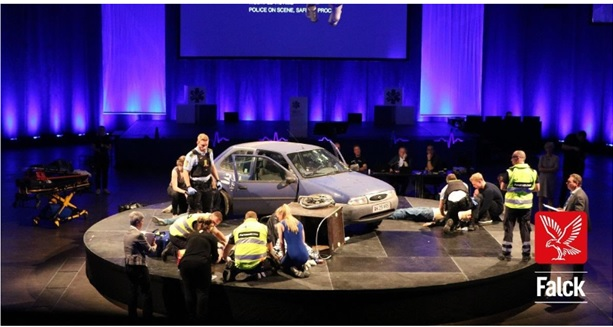 Falck UK compete in EMS Games