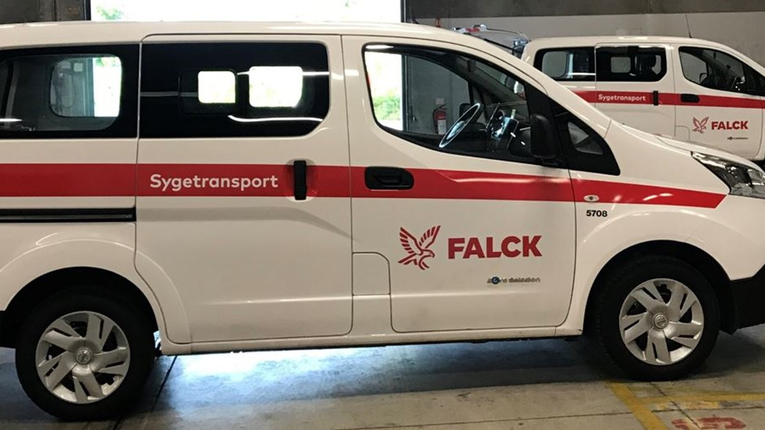 Falck introduces new electric vehicle fleet!