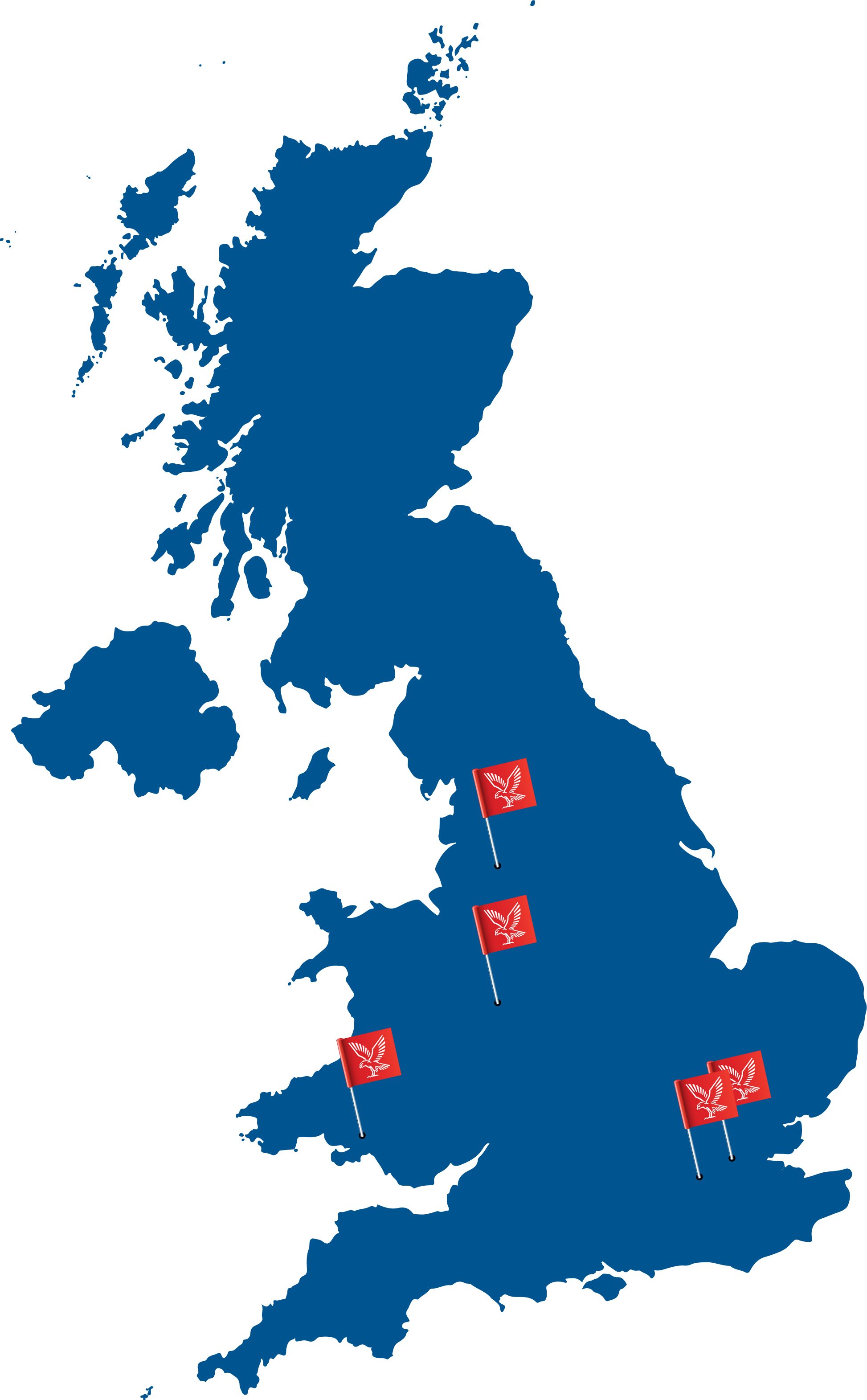 Falck locations in the UK